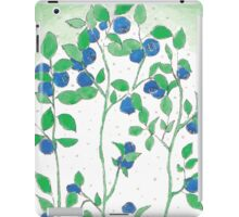 Blueberries vector iPad Case/Skin