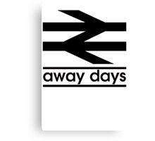 Away Day Culture Canvas Print
