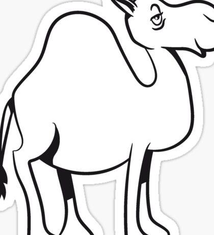 Kamel witzig süss doof  Sticker