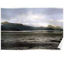 Daybreak over Kagan Bay, Haida Gwaii (British Columbia, Canada) Poster
