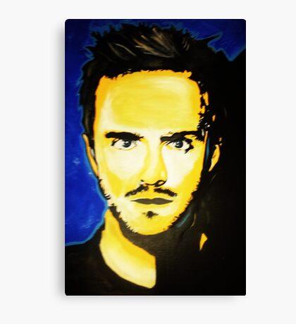 Jesse Pinkman art Canvas Print