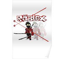Roblox Lazer Ninja Poster