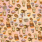 It is a good time for Coffee (pattern) by Bob Szesnat