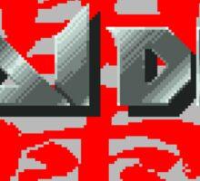 Raiden (Jaguar Title Screen) Sticker