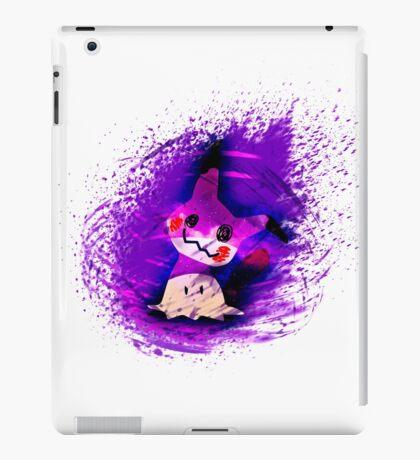 Mimikyu Busted Pokemon V2 iPad Case/Skin