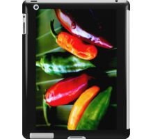Tablet Case - Lineup of Chilies iPad Case/Skin