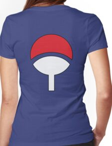 Uchiha Clans Log Womens Fitted T-Shirt
