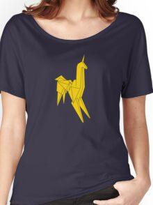 Blade Runner - Bright Gold Unicorn Women's Relaxed Fit T-Shirt