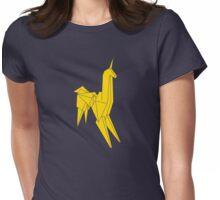 Blade Runner - Bright Gold Unicorn Womens Fitted T-Shirt