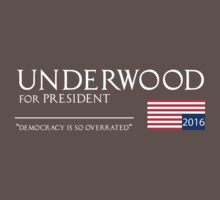 Underwood for President by Daniele  Marcello