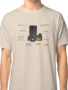 DSLR Diagram Classic T-Shirt