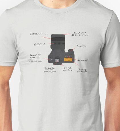 DSLR Diagram Unisex T-Shirt