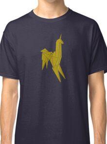 Blade Runner - Gold Texture Unicorn Classic T-Shirt