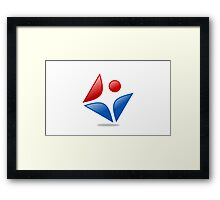 active-people-icon Framed Print