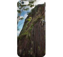 Climbing Pwisehn Malek - Pohnpei, Micronesia iPhone Case/Skin