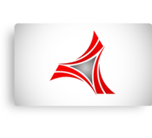 abstract-logo Canvas Print
