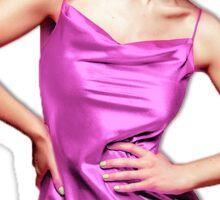 Marina and the Diamonds in pink dress Sticker