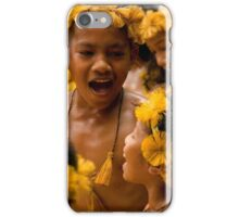 Children's Dance - Pohnpei, Micronesia iPhone Case/Skin