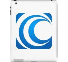 alphabet-C-abstract-icon iPad Case/Skin