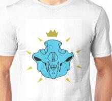 Skull Crown Blue Unisex T-Shirt