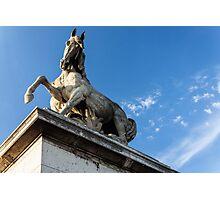 Parisian Statue Photographic Print