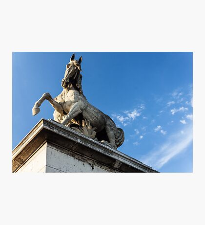 Parisian Statue Photographic Print
