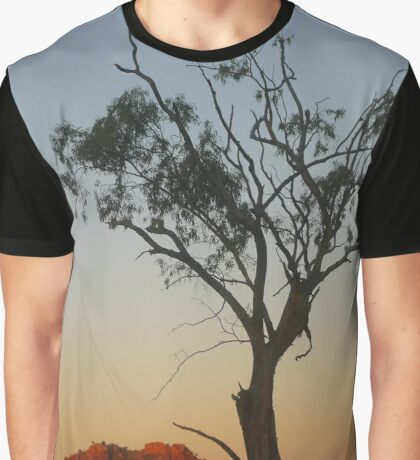 Outback Moonrise Graphic T-Shirt