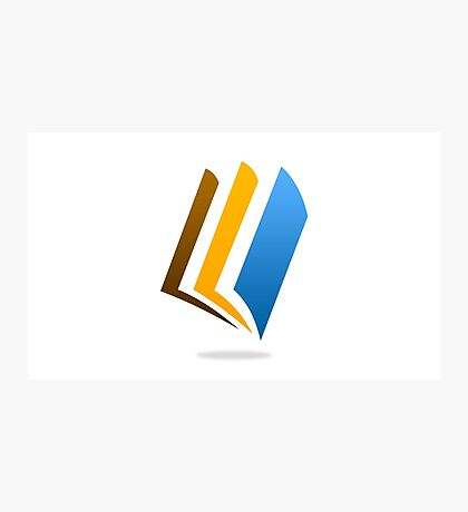 book-logo Photographic Print