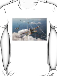 Headlong attack (Hurricanes over Dorset) T-Shirt