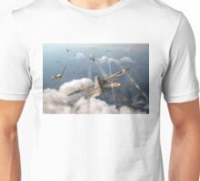 Headlong attack (Hurricanes over Dorset) Unisex T-Shirt