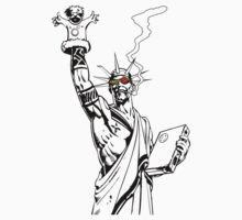 Transmetropolitan: Spider of Liberty [Transparent] by ThatGuyScout