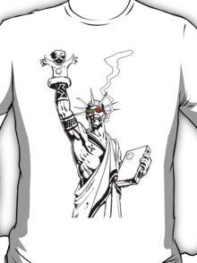 Transmetropolitan: Spider of Liberty [Transparent] T-Shirt