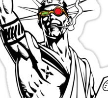 Transmetropolitan: Spider of Liberty [Transparent] Sticker