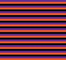 Halloween Stripes by ArtfulDoodler