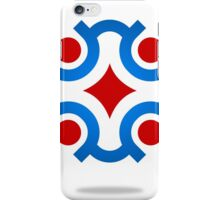 circle-connection-abstract-logo iPhone Case/Skin