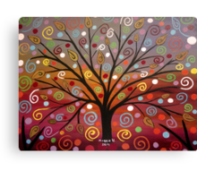 Abstract tree-10 Canvas Print