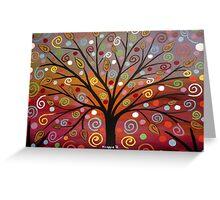 Abstract tree-10 Greeting Card