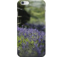 Bluebells at Painshill iPhone Case/Skin