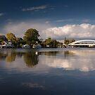 Walton riverside by Rachael Talibart