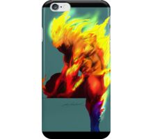 Human Torch iPhone Case/Skin