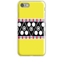 Neon Aztec iPhone Case/Skin