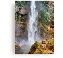 Waterfall Madness Canvas Print