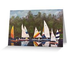 Myrick - Timberlake Sail Boats Greeting Card