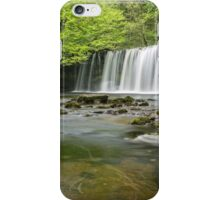 Upper Gushing Falls, Brecon Beacons iPhone Case/Skin