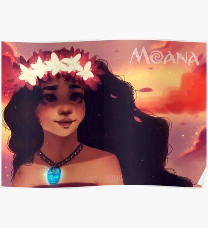Moana - How Far I'll Go Poster
