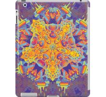 Psychedelic jungle kaleidoscope ornament 21 iPad Case/Skin