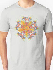 Psychedelic jungle kaleidoscope ornament 21 Unisex T-Shirt