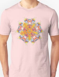 Psychedelic jungle kaleidoscope ornament 21 T-Shirt
