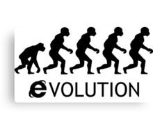 Evolution Explorer Canvas Print