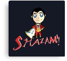 Shazam! With Text Canvas Print